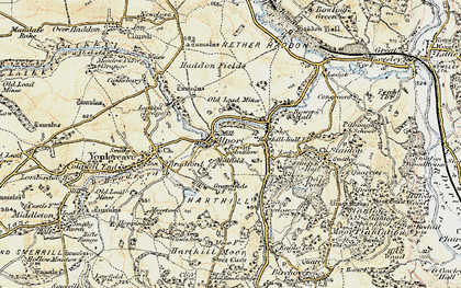Old map of Alport in 1902-1903