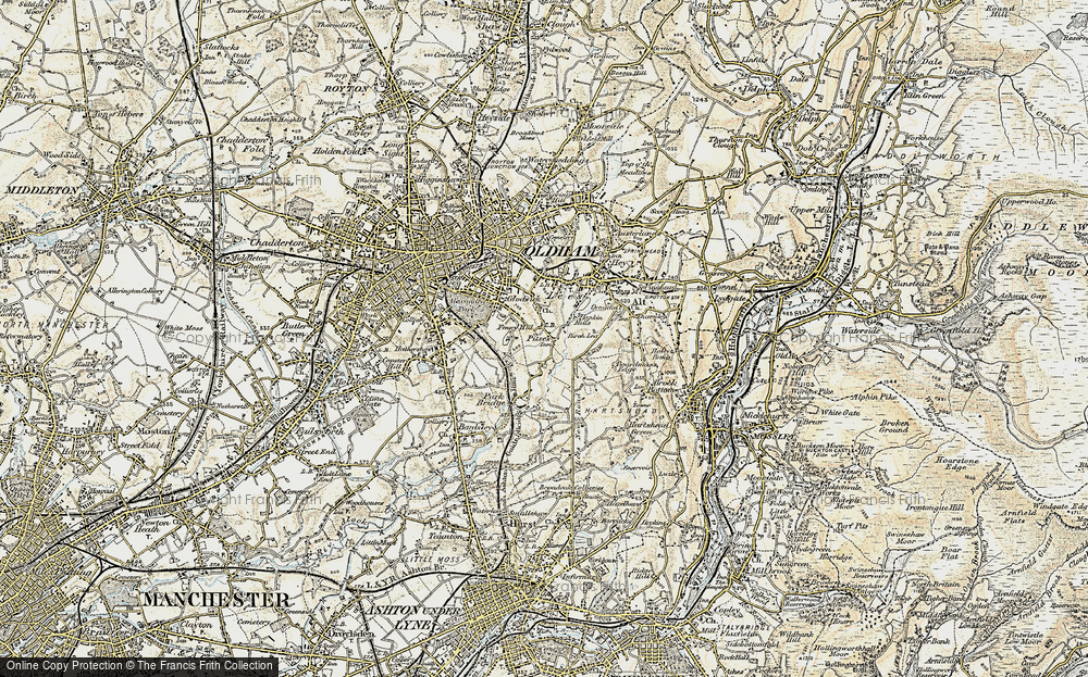 Old Map of Alt, 1903 in 1903