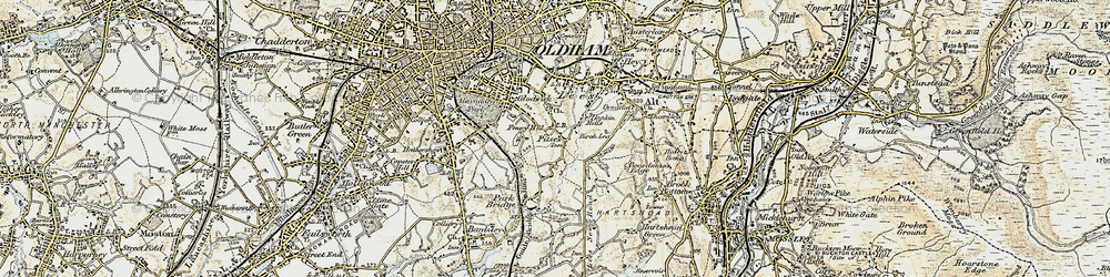 Old map of Alt in 1903