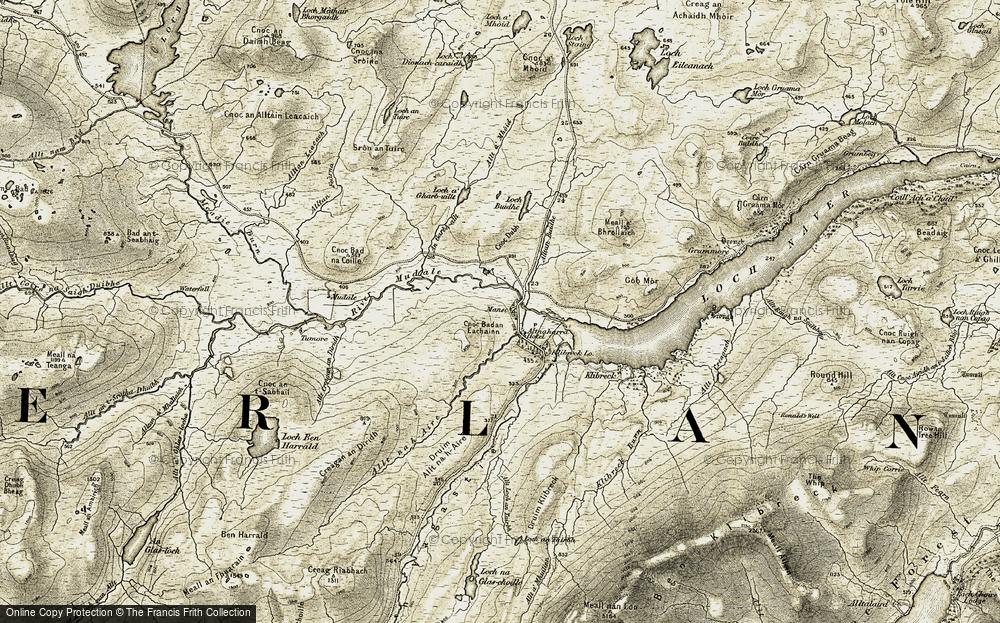 Altnaharra, 1910-1912