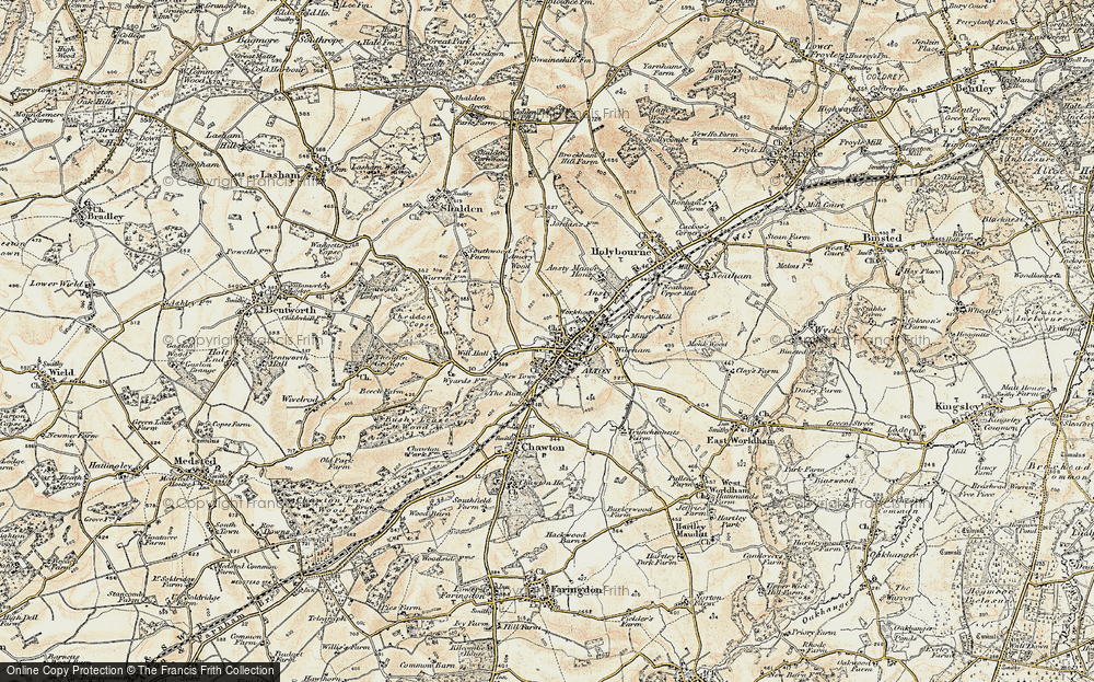 Old Map of Alton, 1897-1909 in 1897-1909