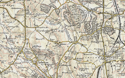 Old map of Alton in 1902-1903
