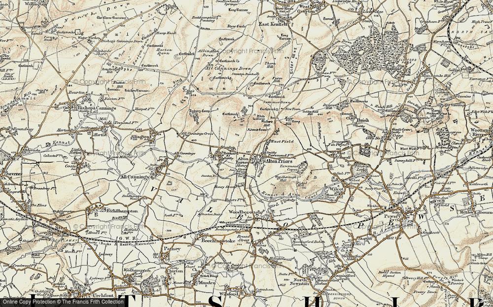 Alton Barnes, 1898-1899