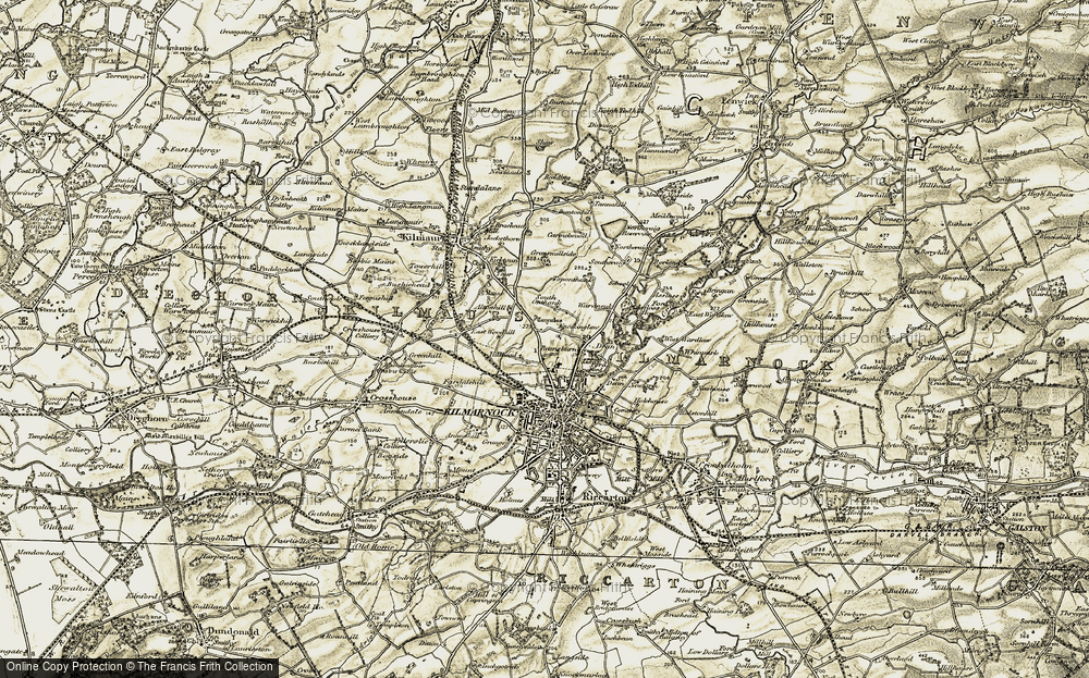 Old Map of Altonhill, 1905-1906 in 1905-1906