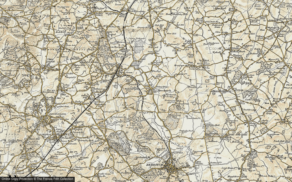 Alvechurch, 1901-1902