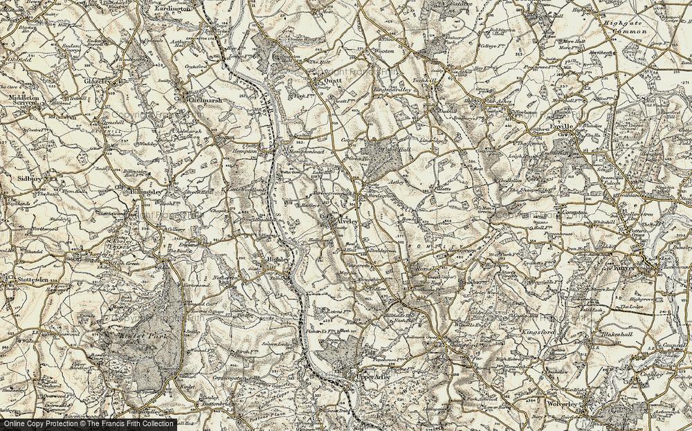 Alveley, 1901-1902