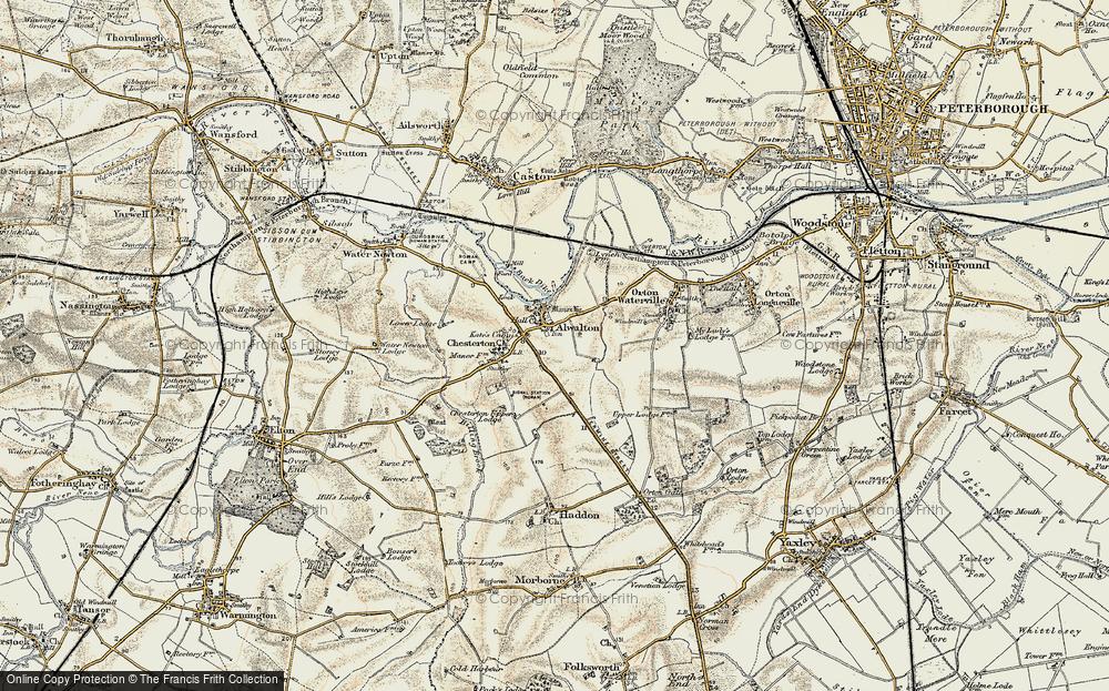 Alwalton, 1901-1902
