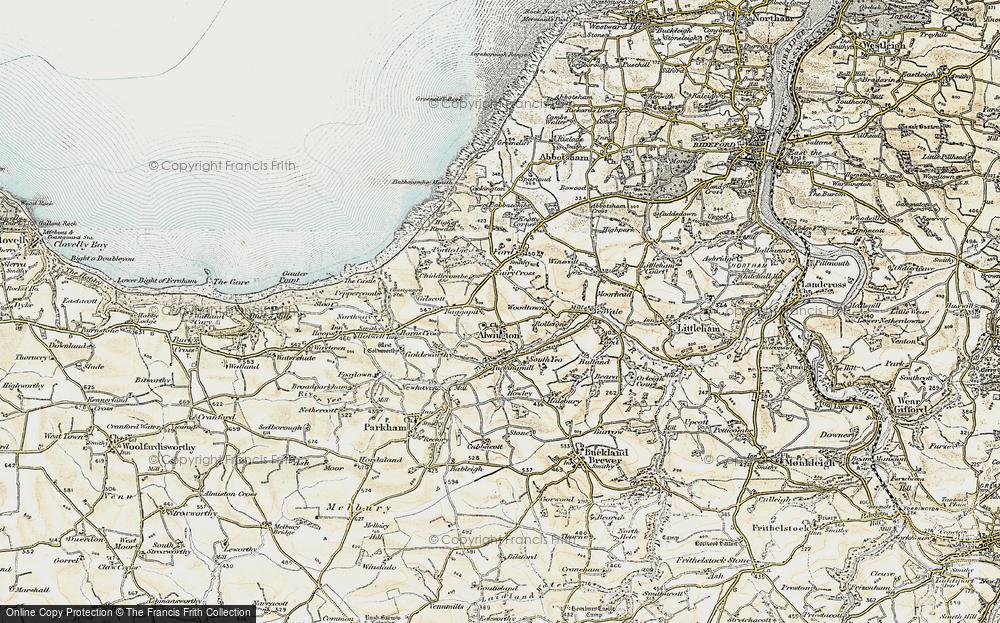 Alwington, 1900