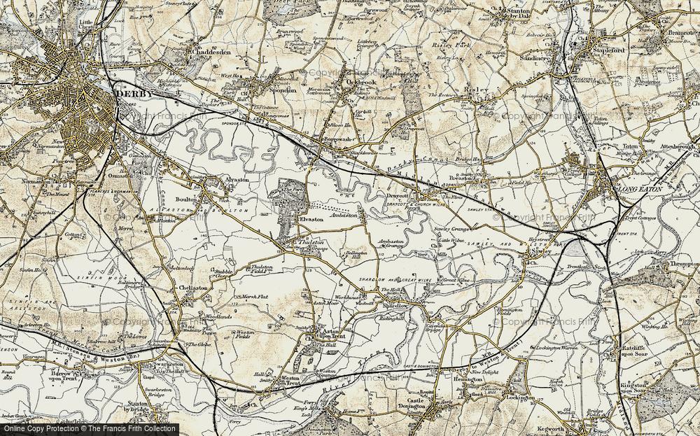 Ambaston, 1902-1903