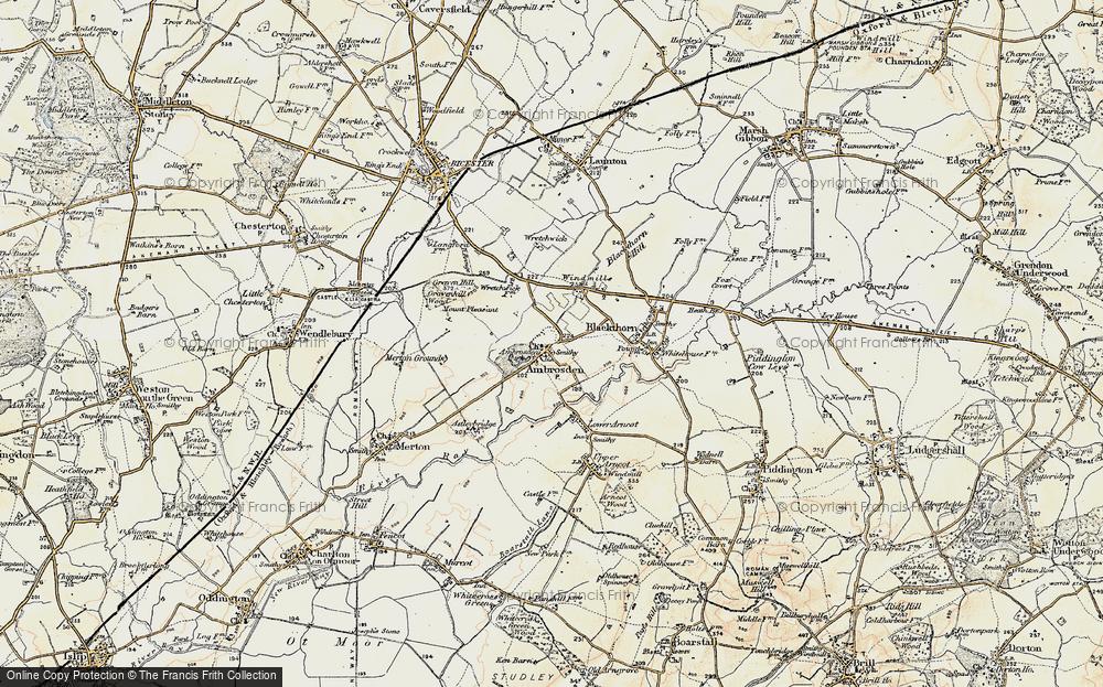 Ambrosden, 1898-1899