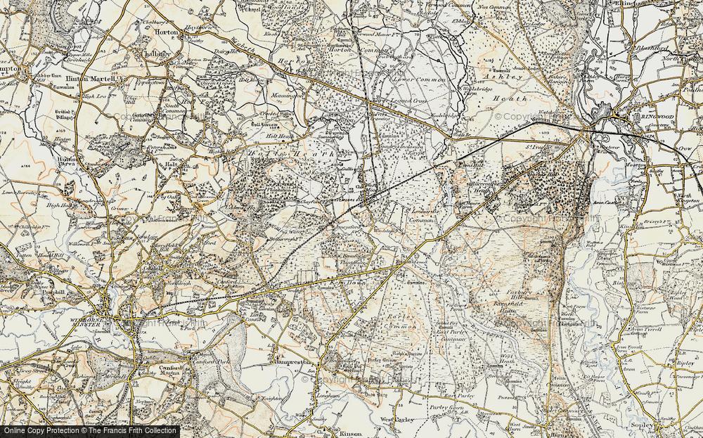 Ameysford, 1897-1909