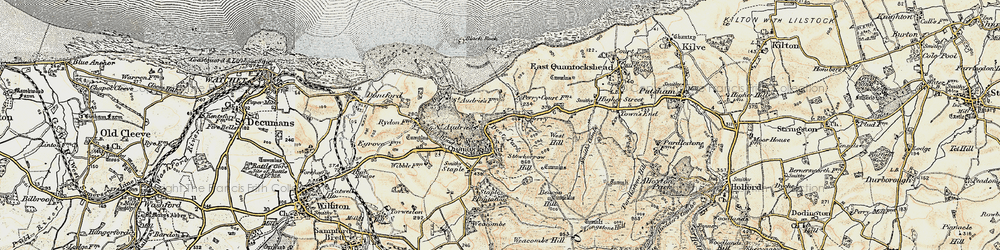 Old map of Amitabha Buddhist Centre in 1898-1900