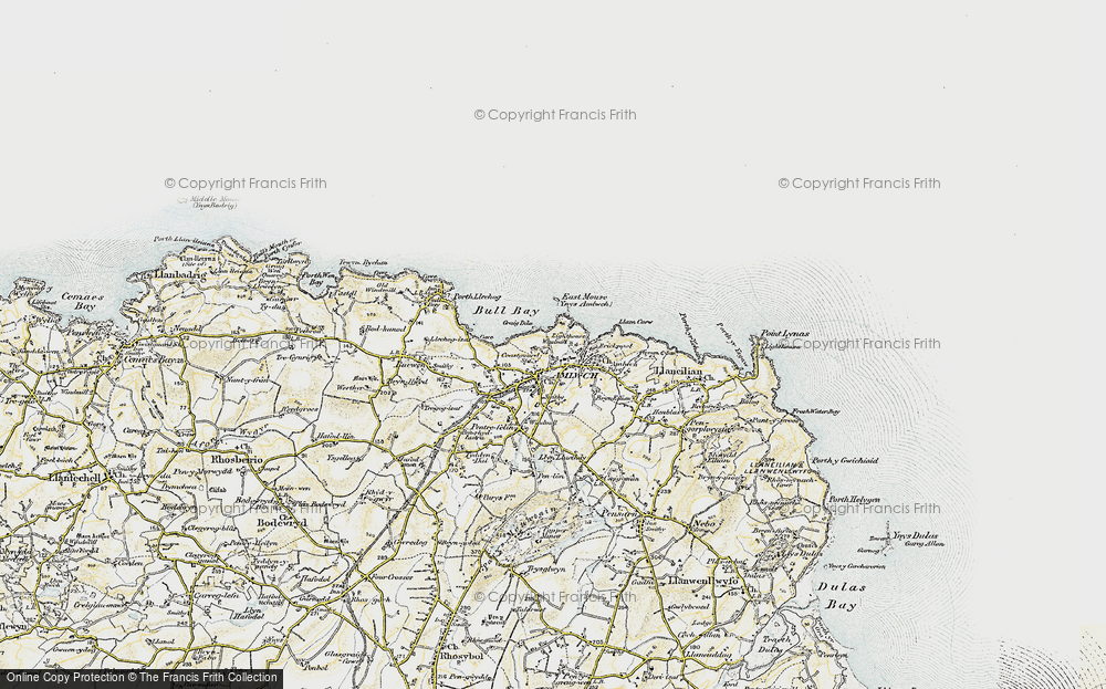 Old Map of Amlwch, 1903-1910 in 1903-1910