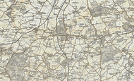 Map of Ampthill, 1898-1901