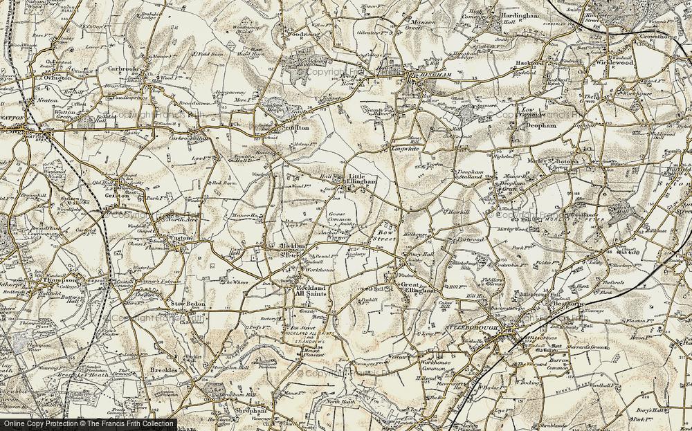 Anchor Corner, 1901-1902