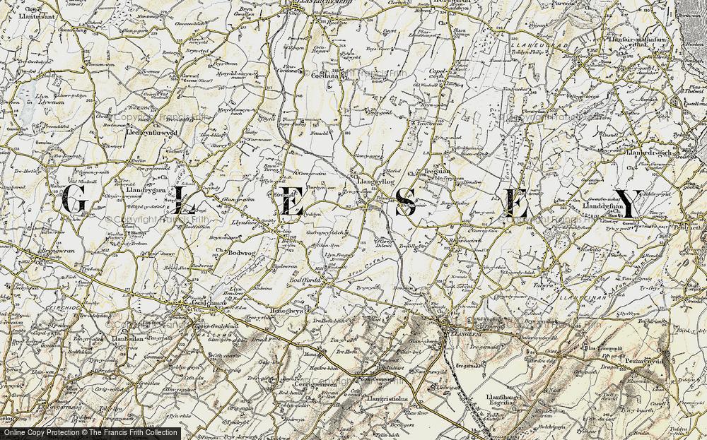 Anglesey/Ynysmôn, 1903-1910