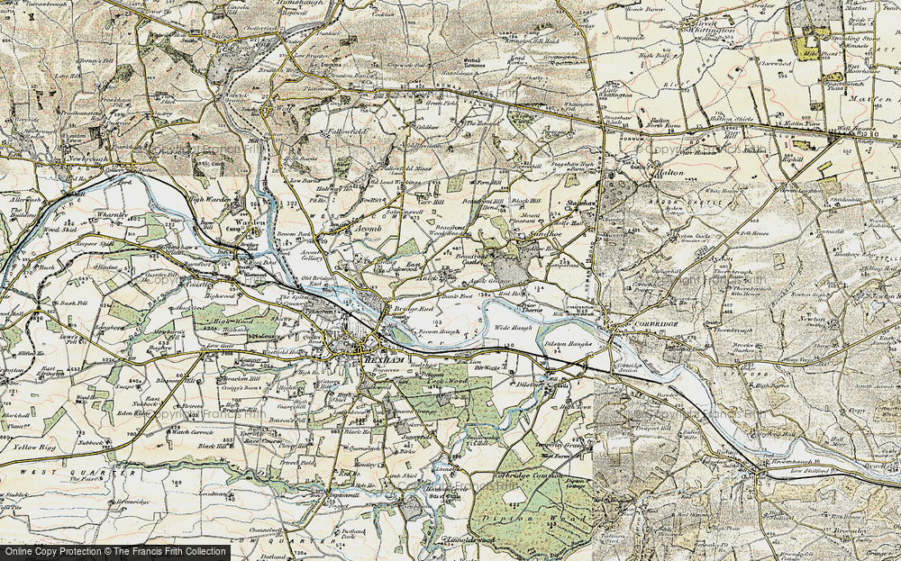 Anick, 1901-1904