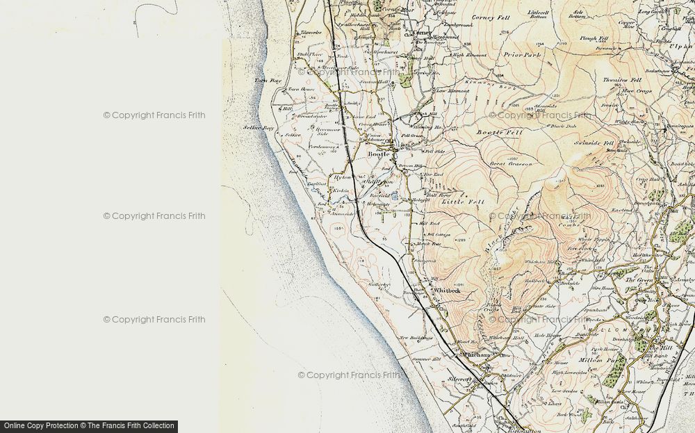 Old Map of Annaside, 1903-1904 in 1903-1904