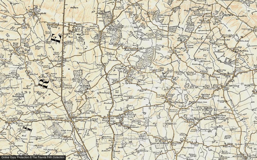 Anstey, 1898-1899