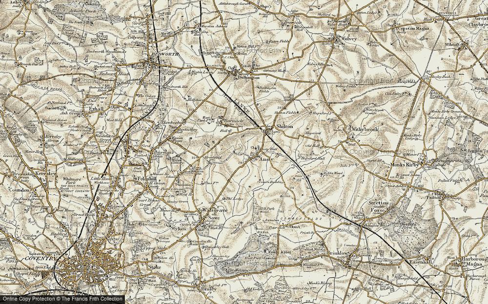 Ansty, 1901-1902