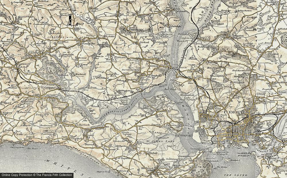 Antony Passage, 1899-1900