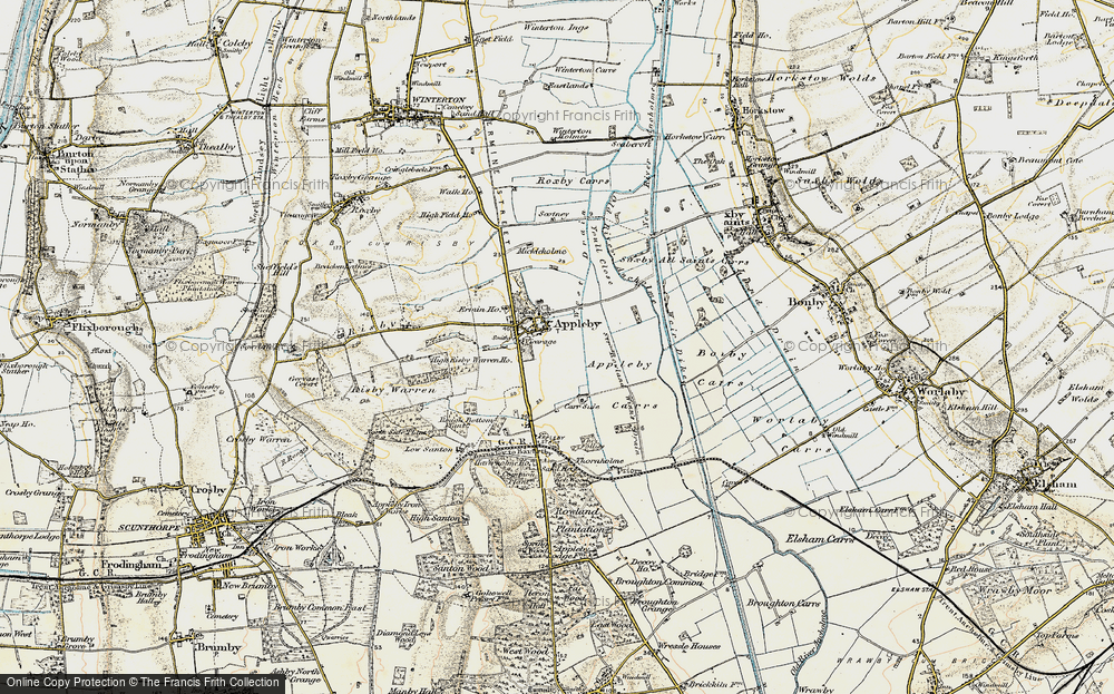 Old Map of Appleby, 1903-1908 in 1903-1908