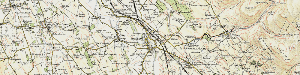 Old map of Appleby-in-Westmorland in 1901-1904