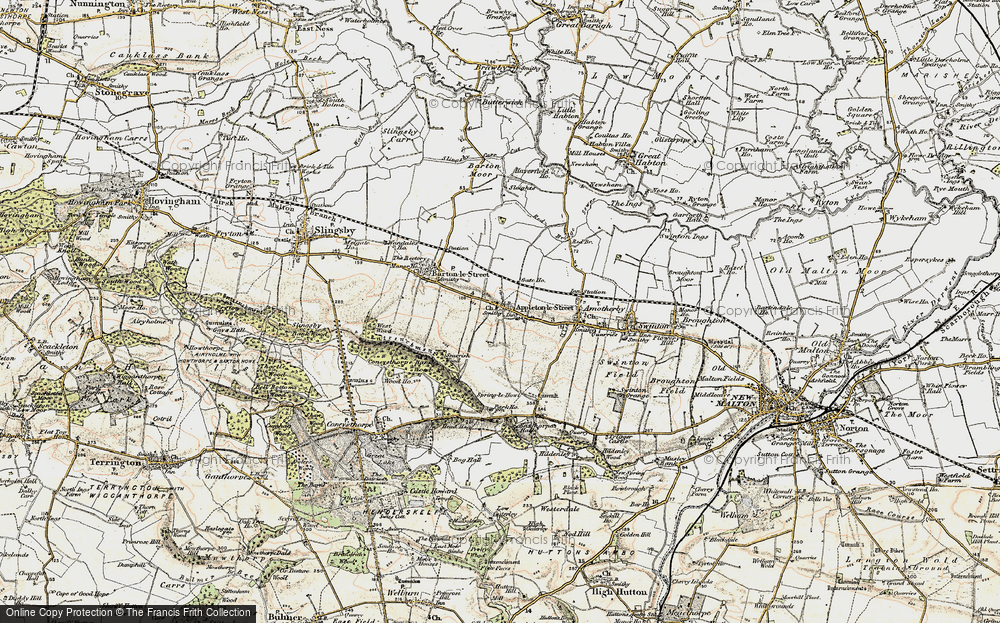 Old Map of Appleton-le-Street, 1903-1904 in 1903-1904