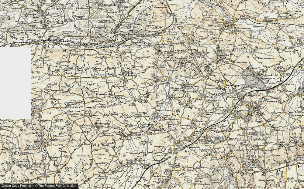 Old Map of Appley, 1898-1900 in 1898-1900
