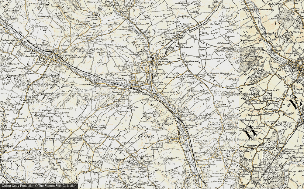 Old Map of Apsley, 1897-1898 in 1897-1898