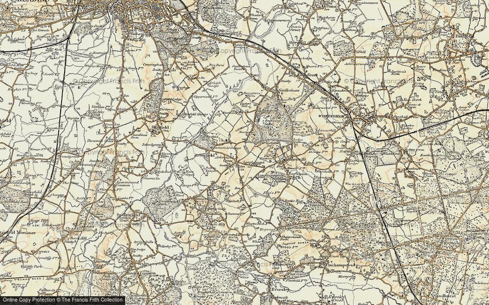Arborfield Cross, 1897-1909
