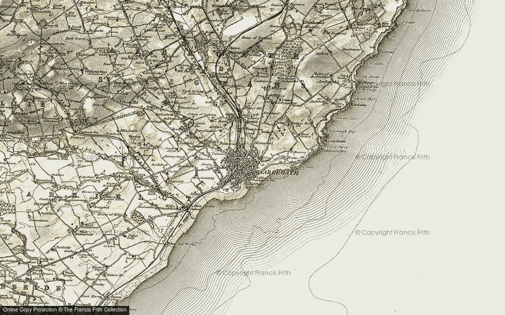 Arbroath, 1907-1908