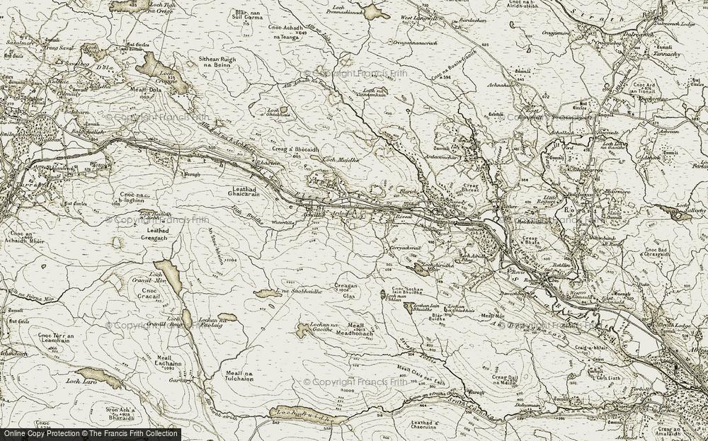Ardachu, 1910-1912