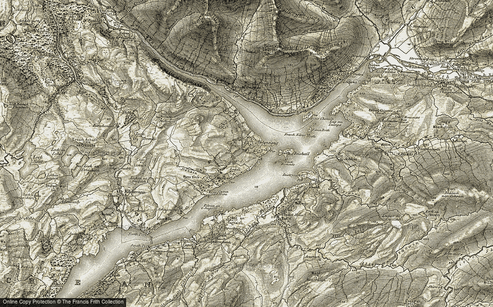 Ardanaiseig, 1906-1907