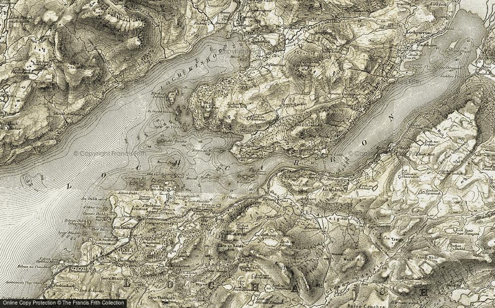 Ardaneaskan, 1908-1909