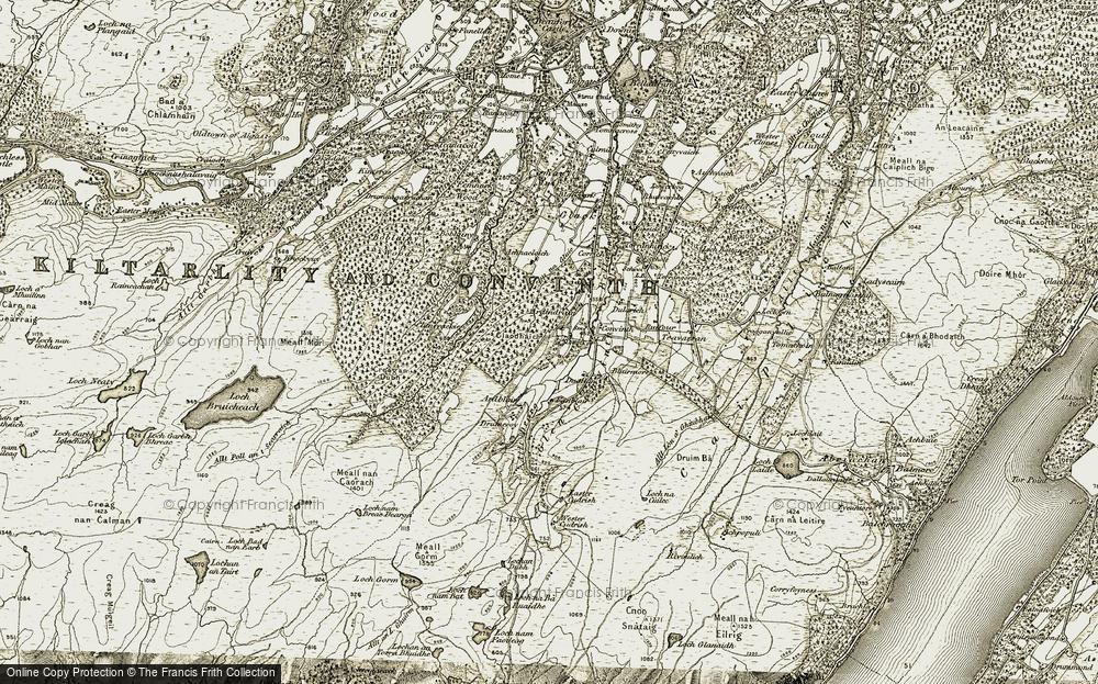 Ardendrain, 1908-1912