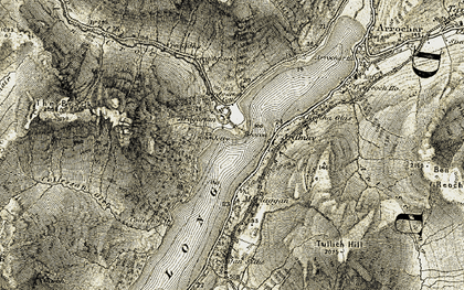 Old map of Ardmay Ho in 1905-1907