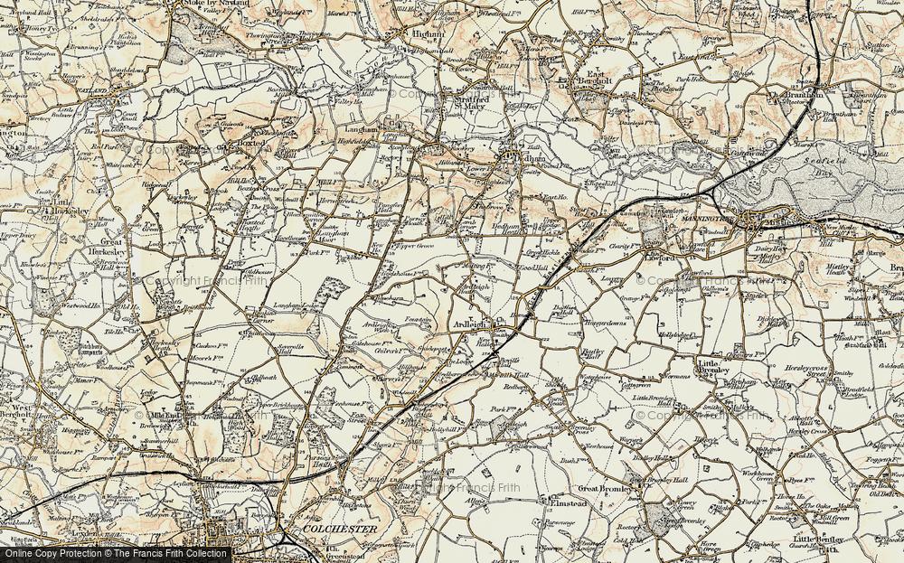 Ardleigh Heath, 1898-1899