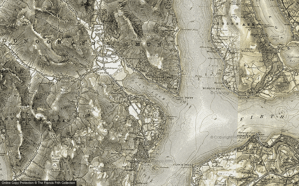 Ardnadam, 1905-1907