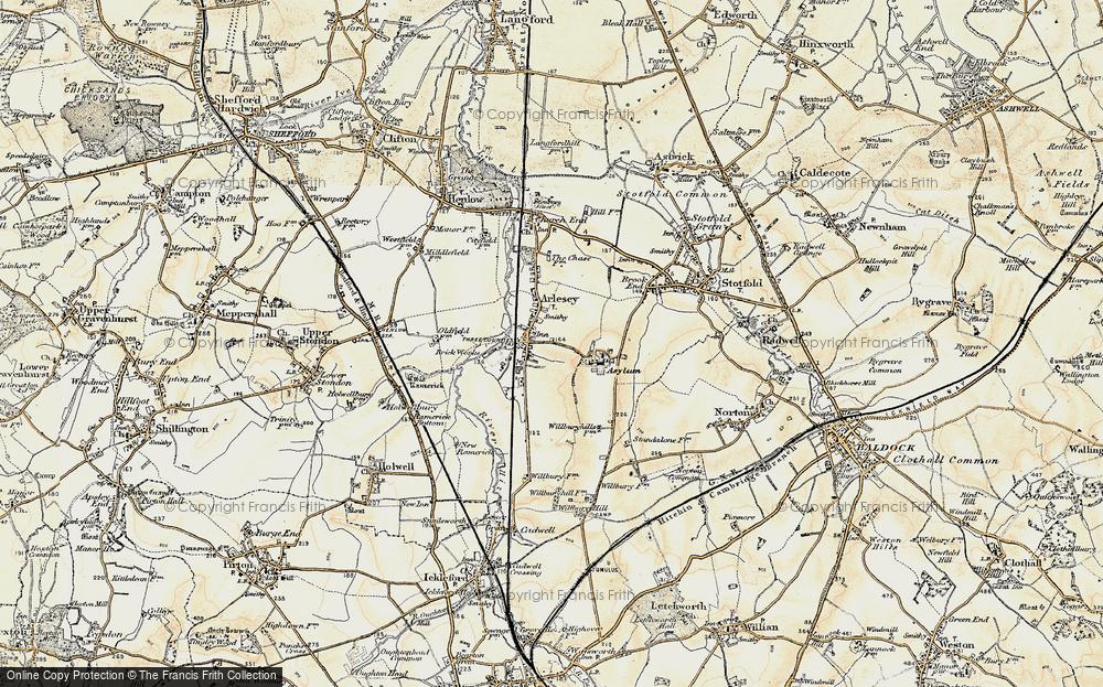 Arlesey, 1898-1901