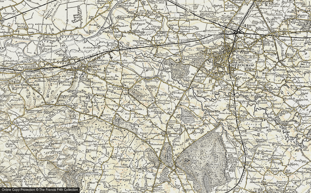 Old Map of Arthill, 1902-1903 in 1902-1903
