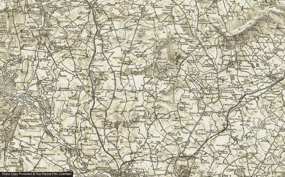 Arthrath, 1909-1910