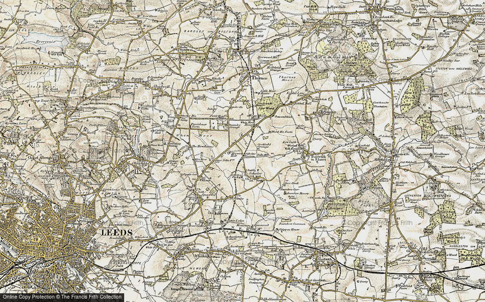 Old Map of Arthursdale, 1903-1904 in 1903-1904