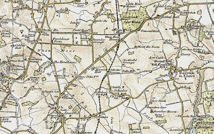 Old map of Arthursdale in 1903-1904