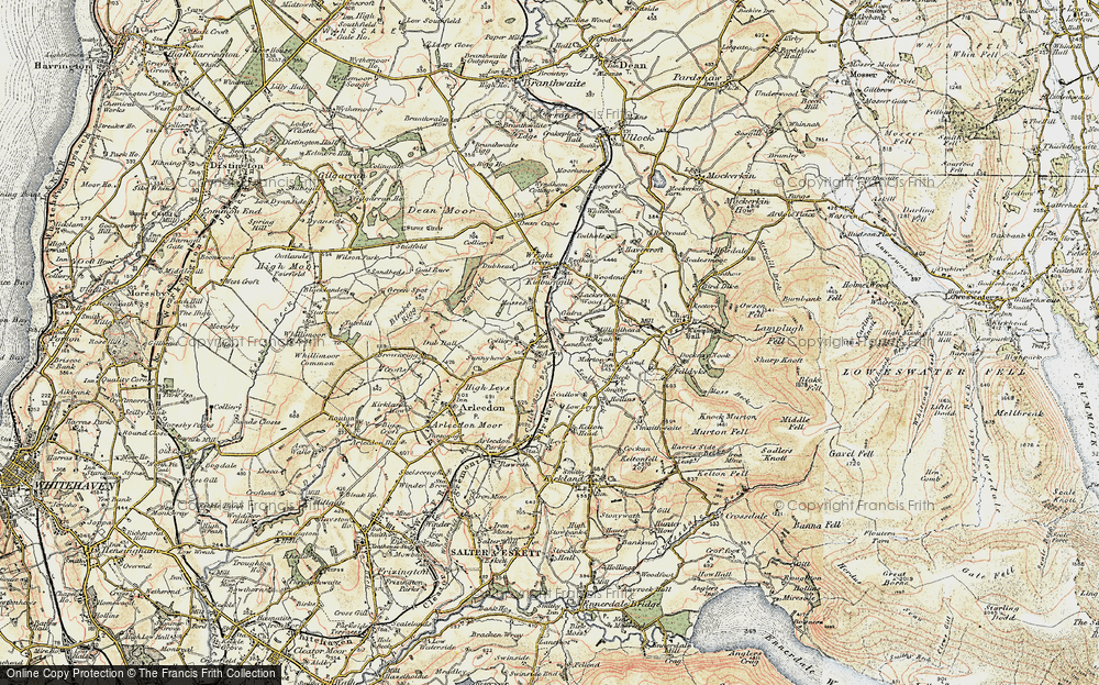 Old Map of Asby, 1901-1904 in 1901-1904