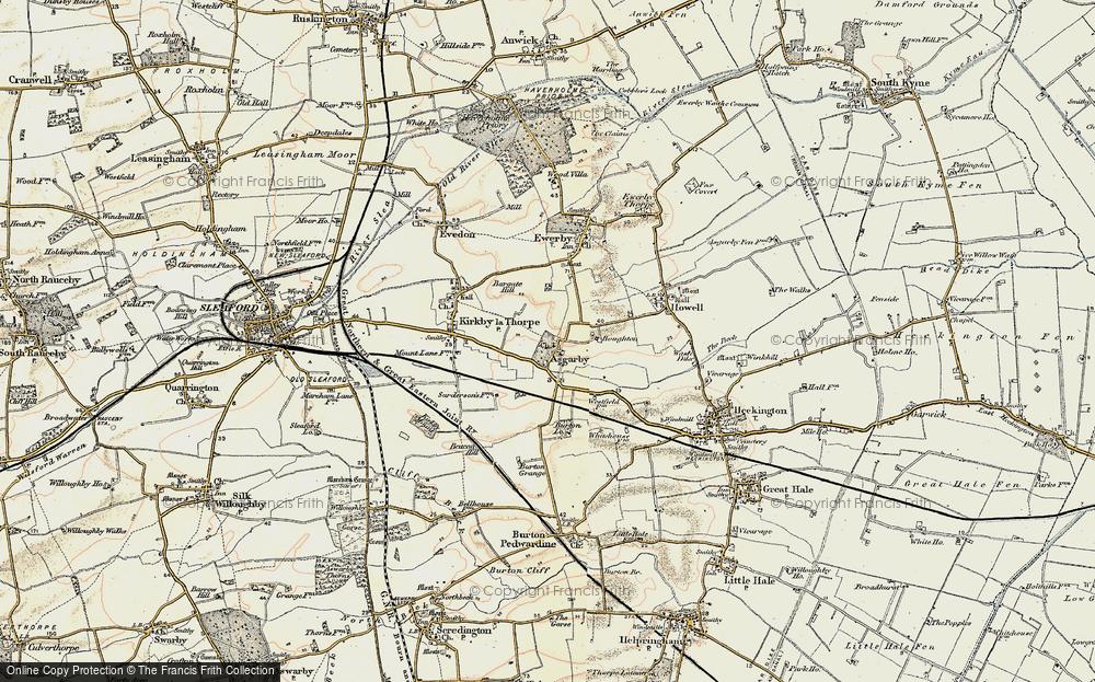 Asgarby, 1902-1903