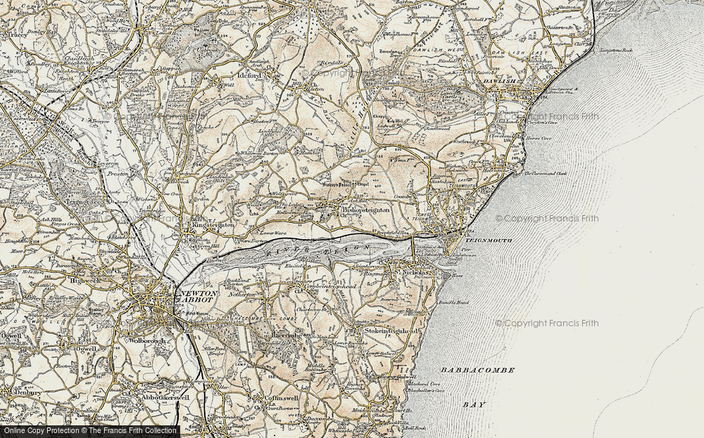 Old Map of Ash Hill, 1899 in 1899
