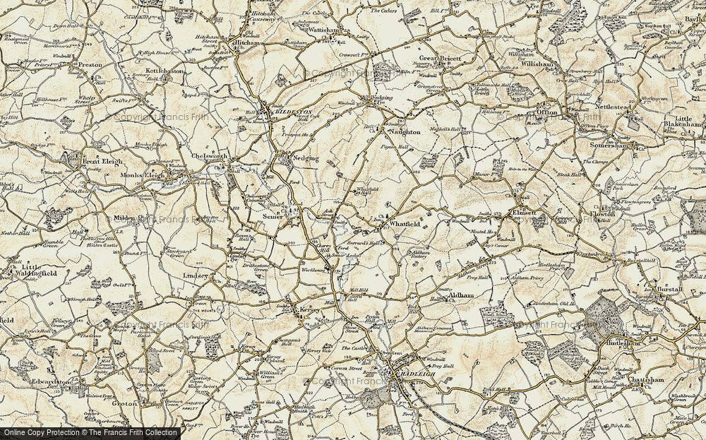 Ash Street, 1899-1901