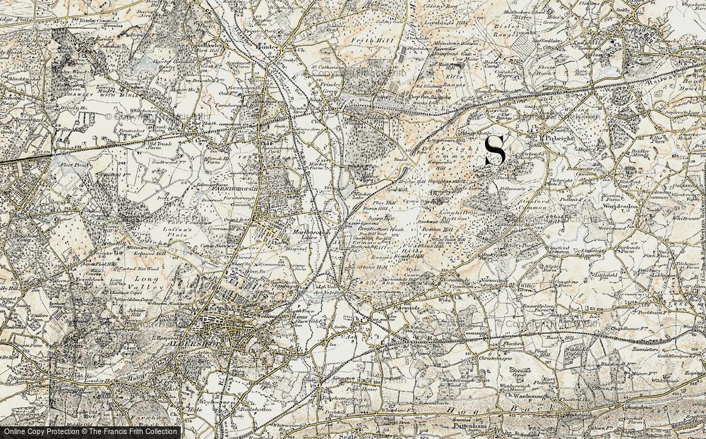 Ash Vale, 1898-1909
