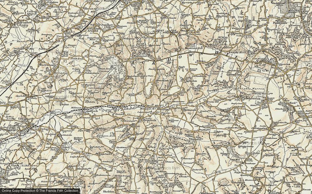 Ashculme, 1898-1900
